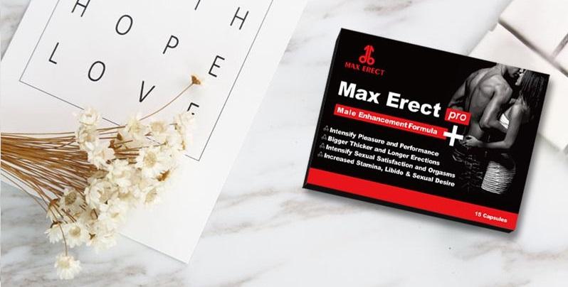Cubalah Max Erect, yang mengandungi hanya bahan alami!