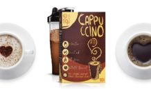 Cappuccino Fit - harga, komposisi, kesan, permohonan, yang sah di forum. Bagaimana untuk perintah dari web pengeluar?