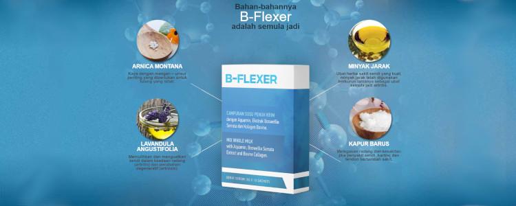 Kesannya dapat dilihat selepas penggunaan pertama B Flexer.
