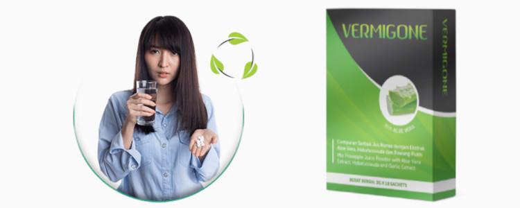 Apakah harga Vermigone? Bolehkah anda beli di farmasi?