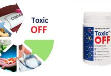 Toxic OFF- harga, tindakan, ulasan forum, di mana untuk membeli? Di apotek atau di web pengeluar?